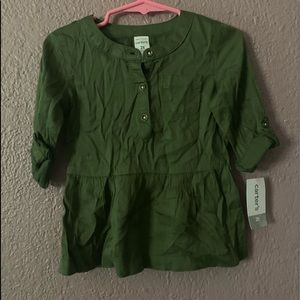 Carters girls Blouse 2T